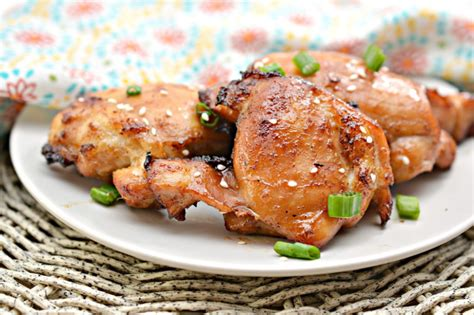 chicken keto thighs air fried dinner recipes asian skinless boneless homemadeforelle