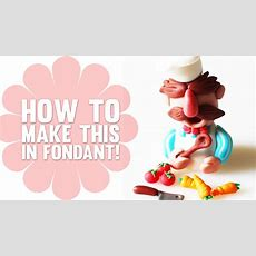 How To Make The Swedish Chef From The Muppets  Cake