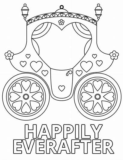 Coloring Pages Everafter Happily