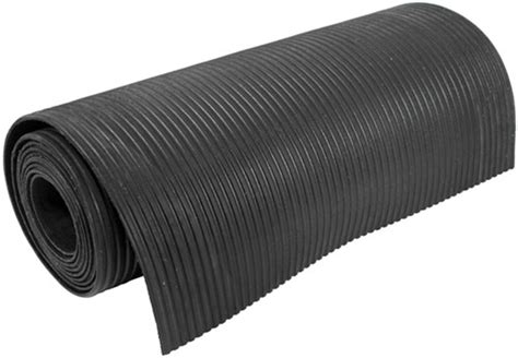 """When it's time to store a snowmobile for a week, for the summer, or just the trailer ride home having the right flooring material in the shed is a must. Ribbed Rubber Trailer Mat - 36"""" x 22' Surehoof Enclosed ..."""