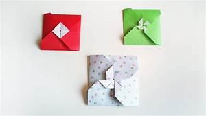 Faire Des Origami : hd tuto 2 fa on de faire une enveloppe en origami 2 ways to make a origami envelope youtube ~ Nature-et-papiers.com Idées de Décoration