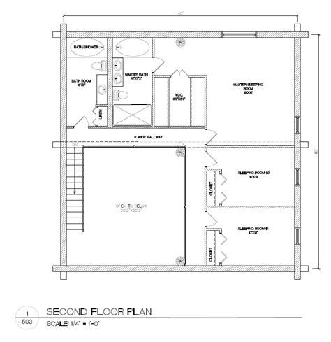 blueprints homes plans package 40x40 log home builders association