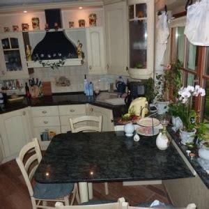 Echtholzküche Kirsche Lackiert Arbeitsplatte Marmor