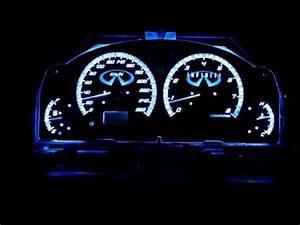 Custom Led Colour Changing G35 Sedan Gauges Prelim Video