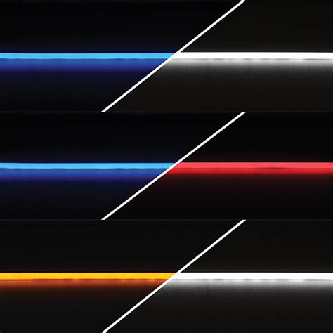 dual color dual color diffused led linear light itc rv