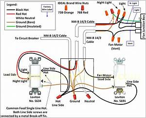 Hunter 3 Speed Fan Switch Wiring Diagram