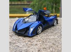 Devel Sixteen Super Cars Model 132 Toy Sound&Light Alloy