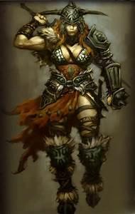 Image - Female Barbarian.jpg - Diablo Wiki
