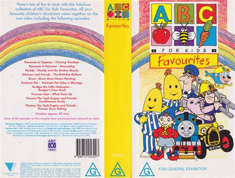 abc for favourites pal vhs a find ebay