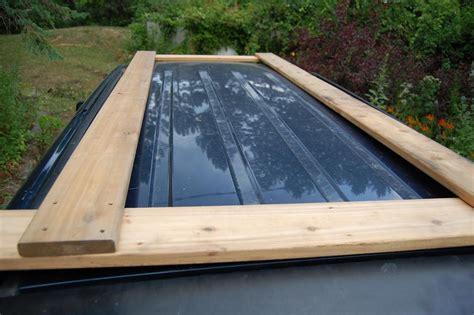 diy roof rack more build a outdoor canoe rack sailing