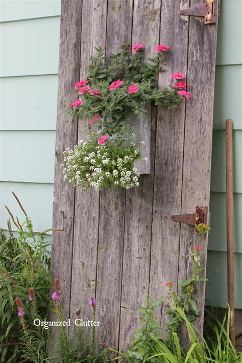 Garden Decoration by My Friend Danita S Rustic Garden Decor Organized Clutter