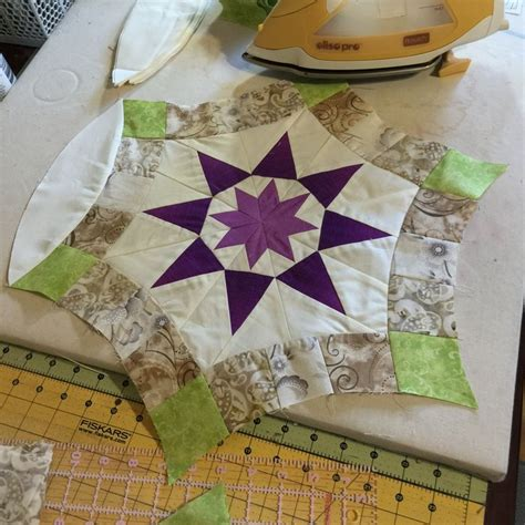 a quilt pattern i designed a paper pieced golden wedding ring quilt quilts by debra clutter