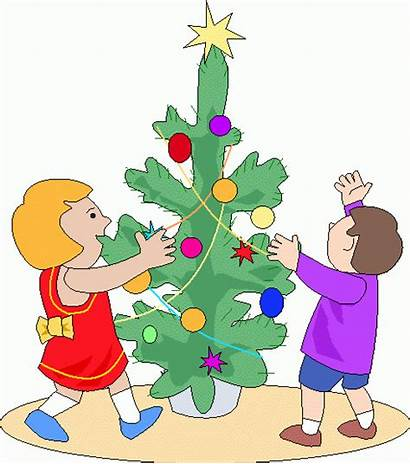 Clipart Decorating Tree Decorate Clip Cliparts Decorated