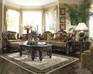Aico living room set essex manor ai 768 for Aico living room sets