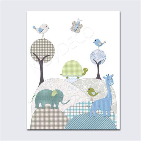 chambre bebe elephant décoration illustration pour chambre de bébé garçon pépinière