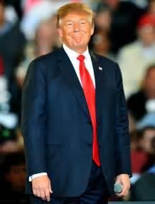 Donald Trump Standing