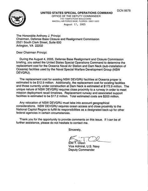 department  defense clearinghouse response dod