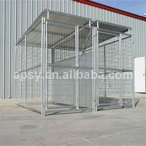 wholesale large outdoor dog cageswelded wire dog kennel With outdoor wire dog kennel