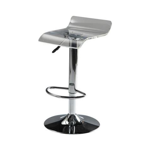 chaise de bar castorama sgabello da bar in plastica acrilica e metallo cromato pop