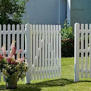 Gartenzaun Weiß Holz : gartenzaun holz weis ~ Michelbontemps.com Haus und Dekorationen