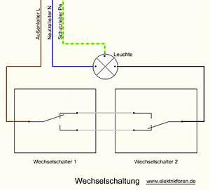 Schaltplan Für Wechselschaltung : 2 lichtschalter dimmer ~ Eleganceandgraceweddings.com Haus und Dekorationen