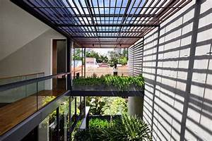 A, House, With, Beautiful, Courtyards