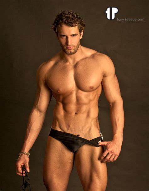 Alex Nardell Fitness Model Tony Preece Tonypreece Com Pecs Six Pack Abs Hunk Hot Guy Nice