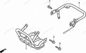 Honda Atv 1998 Oem Parts Diagram For Carrier
