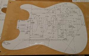 building the body thesupposedstringmeister With strat neck template