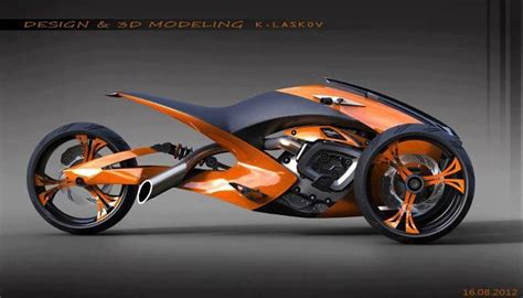 Futuristic Motorcyle : Cool Highway Driving On A Kruzor Motorcycle