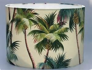 tropical coconut palm trees lampshade coconut palm tree