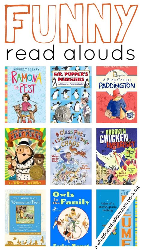 10 books to read aloud 199 | funny read alouds