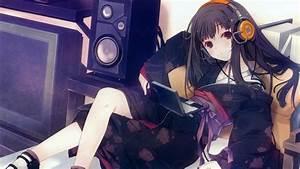 Anime Girl Music 847212 - WallDevil