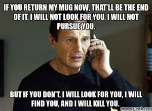 Mug Meme - someone stole my mug
