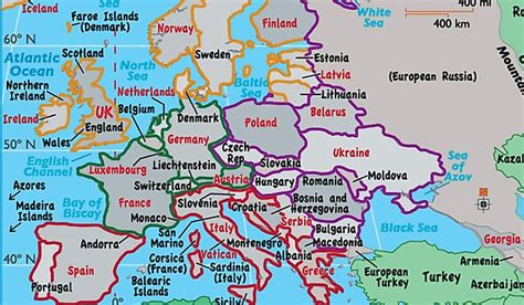 countries  europe map united states map europe map