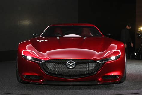Mazda Rx-vision Concept Wallpapers Images Photos Pictures