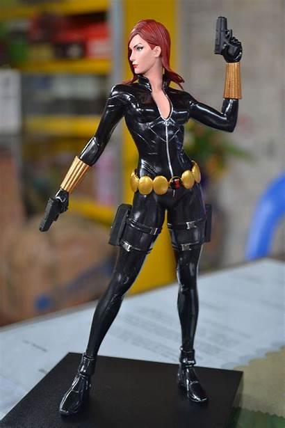 Widow Statue Kotobukiya Marvel Artfx Figure Pretty