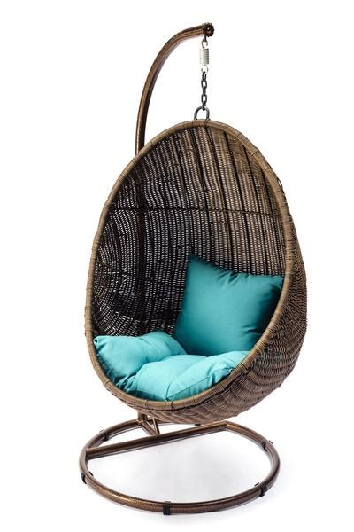 egg shaped swing chair ansan outdoor furniture wicker egg swing chair 7034