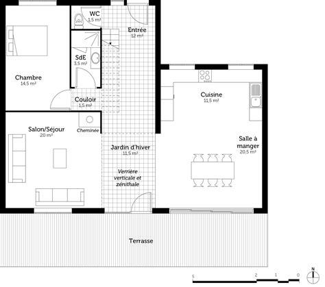 plan maison moderne 5 chambres plan maison contemporaine avec 5 chambres ooreka