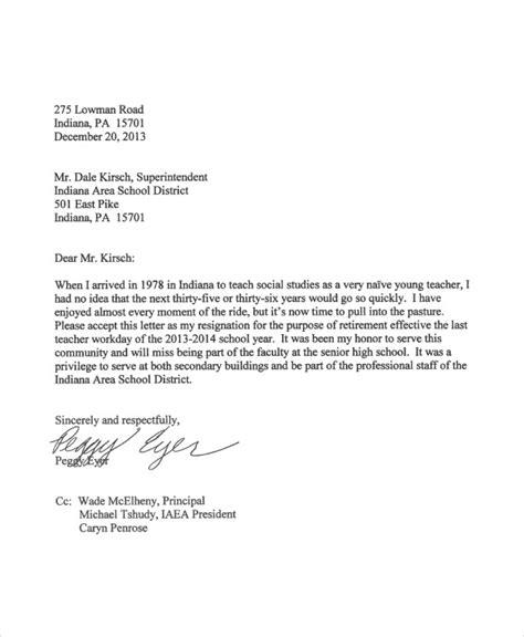 resignation letter format  english  personal reason