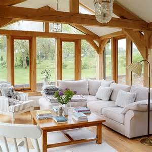garden room wander through this beautiful thatched cottage in dorset housetohome co uk - Country Homes And Interiors Uk