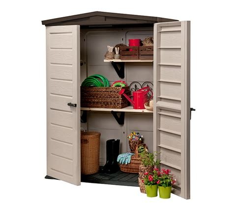 keter woodland high storage shed keter woodland high shed 695 00 landera outdoor