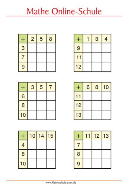 Mathestunde ist ein übungsportal mit angeboten an mathematik übungsmaterial. Matheaufgaben für 1. Klasse Grundschule - Zahlenraum bis 20 - Tipss und Vorlagen