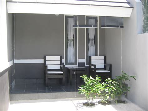 model teras rumah modern rumah minimalis