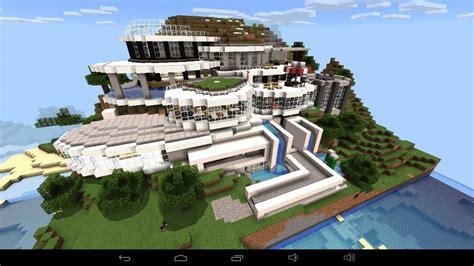 ᐅ Großes Abstraktes Haus Am Berg In Minecraft Bauen