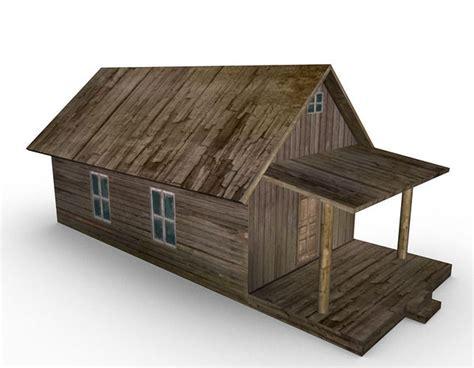 model  farm house cgtrader
