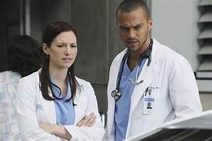 Chyler Leigh e Jesse Williams nell'episodio Superfreak di ...