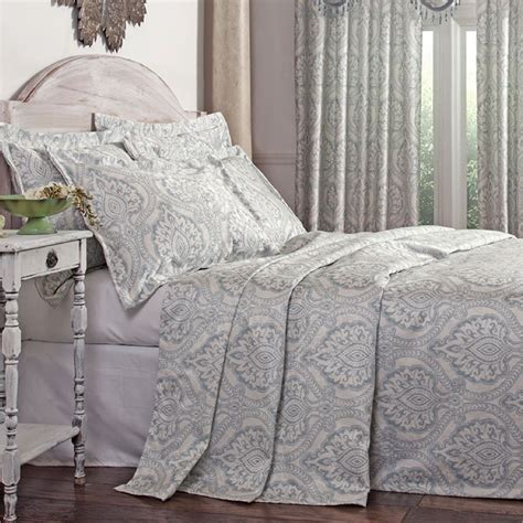 damask bedding santorini lightweight damask bedspread bedding