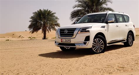 nissan patrol launched   middle east uae