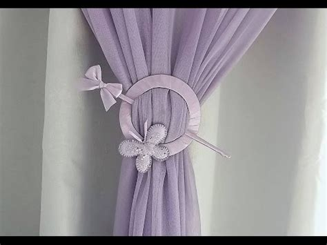 how to make curtain tie backs how to make curtain tie back from cd player 8741